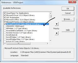 Ado Excel Vba Sql Connecting To Database Example Macros