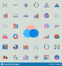 Bubble Chart Icon Charts Diagramms Icons Universal Set