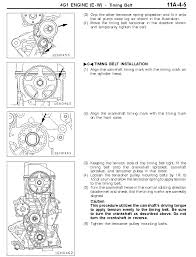 WHERE DO I ALIGN THE TIMING MARKS ON THE CAM AND CRANK SHAFT FOR THE ...