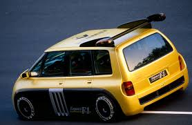 A Minivan Powered by Formula 1 – The Renault Espace F1 - Dyler