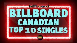 Billboard Top 10 Canadian Single Charts October 05 2019 Chartexpress