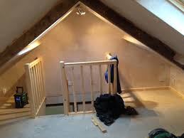 ... top of attic stairs