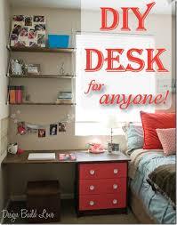 do it yourself desk diy student design build love