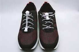 Fashion <b>1 pair</b> No TIE Lacing System Round <b>Lazy Shoelace</b> Elastic ...