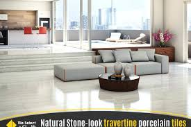 natural stone look porcelain tile go back to nature with these tiles vinyl floor ceramic travertine