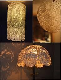 Diy Lamp Shades Enchanting DIY Easy Lace Doily Lamp Shades Three Styles Three Tutorials Do