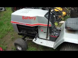 easy wiring a riding lawnmower how to wire your riding lawn mower Scott Riding Mower Wiring Diagram S at Battery Powered Lawn Mower Wiring Diagram