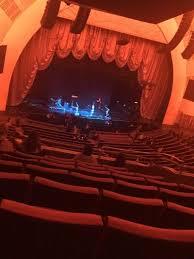 Radio City Music Hall Section 2nd Mezzanine 7 Row G Seat