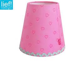 Lampenschirm Rosa Mit Herzen Für Lief Kronleuchter Und