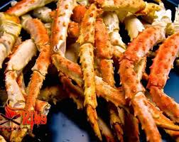 Steamed Alaskan King Crab Legs