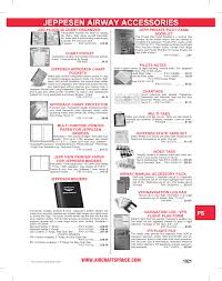Jeppesen Chart Protectors Jeppesen Airway Accessories Manualzz Com