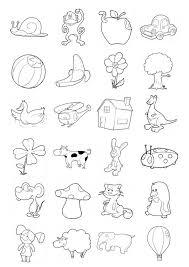 Disegno Da Colorare Icone Per Bambini Piccoli Cat 20709 Images