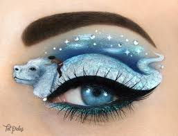 truly fantastic eye makeup art you have to see to believe