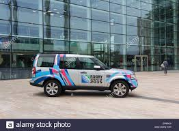 Land Rover Discovery 4 painted in a special livery to mark the ...