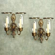 wall sconces with candles hurricane wall sconce candle holder brass candle sconces vintage wall mounted candle