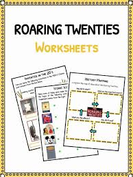 The Roaring Twenties Facts, Worksheets & Historic Information For Kids