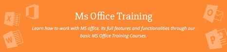 Microsoft Office Training Certificate Ms Office Training In Chennai Mos Certification Training
