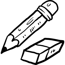 eraser clipart black and white. png eraser clipart black and white