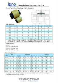 Gear Coupling Specification Chart Shaft Coupling Size Chart Bestfxtradingplatform Com