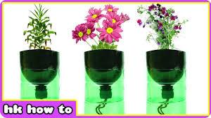 EASIEST How To Make Self Watering Planters DIY Videos For Kids