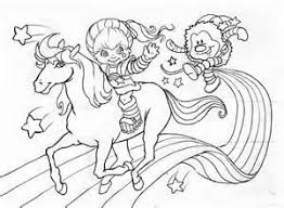 Small Picture 1765 best colorings images on Pinterest Coloring Rainbow brite