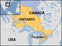 torornto ontario canada information countries of the world Canada Toronto Map this is the map of toronto canada canada toronto matejka