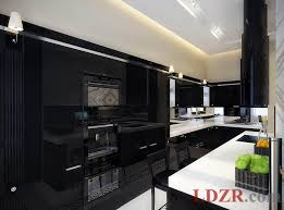 kitchens with painted black cabinets. Fine Kitchens High Gloss Black Kitchen Cabinet Desing Ideas Throughout Kitchens With Painted Cabinets