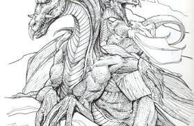 Coloring Pages Dragons And Fairies Adult Fairy Coloring Pages Sexy