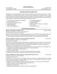 Resume Nursing Home Administrator Resume For Study