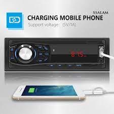 Máy Nghe Nhạc MP3 Bluetooth 1 Din 12V Cho Xe Hơi - Khác