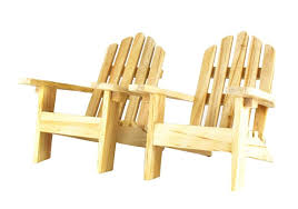 com mini decorative adirondack style plain wood chairs set of 2