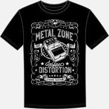 CCB-MT2TSC | BOSS MT-2 Metal Zone Pedal T-Shirt - BOSS