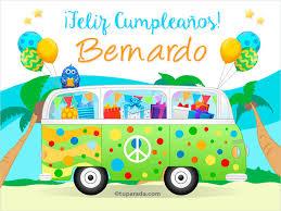 """Résultat de recherche d'images pour """"Â¡Feliz cumpleaños! bernardo"""""""
