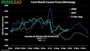 Canola Prices Archives Farmlead
