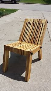 Wood Pallet Upcycled Chair