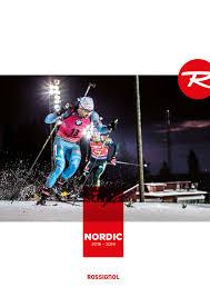 Nordic Ski Sizing Chart Rossignol Katalog Rossignol Nordic 2018 2019 By Levnelyze Issuu