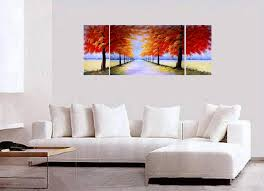 Japanese Cherry Blossom Canvas Wall Art Modern Contemporary Abstract