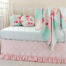 patchwork crib blanket bedding set