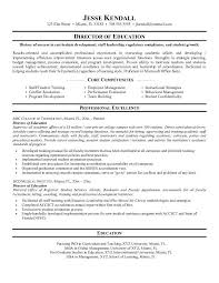 Resume Core Competencies Examples Resume example education worthy print director of template core 72