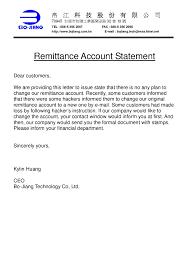 Remittance Letter Sample Infinite Pics Add News 005 En Emmabender
