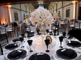 elegant black and white wedding 53 black white and pink wedding table settings pink and black table