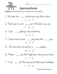 Home > english language arts worksheets > phonics > phoneme blending. Blends Worksheets Have Fun Teaching