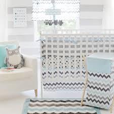 turquoise chevron baby bedding