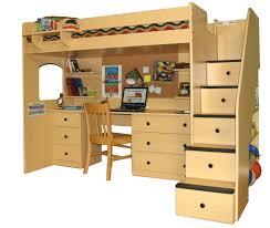 ... Enchanting Bunk Beds Desk 34 Diy Bunk Bed With Desk Plans Full: Full  Size