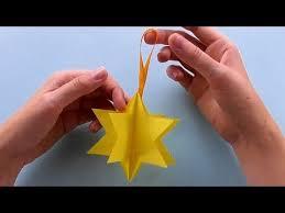 Sterne Basteln Mit Papier Einfache Weihnachtssterne Falten Diy Weihnachtsdeko