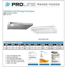 Hood Range Installation Ancona Slim 30 Under Cabinet Range Hood Reviews Monsterlune