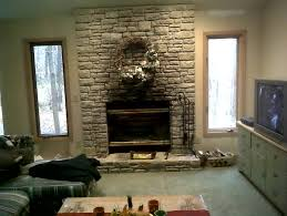 modern living room with brick fireplace. Engaging Modern Living Room With Brick Fireplace Bathroom Decoration And C
