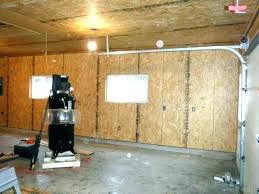 cinder block garage interior wall covering ideas painting cove
