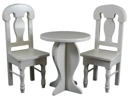 18 inch dolls furniture table and chairs fits american girl dolls