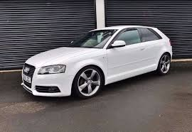2011 audi a3 2 0 tdi 138 s line black edition 3 door white finance available